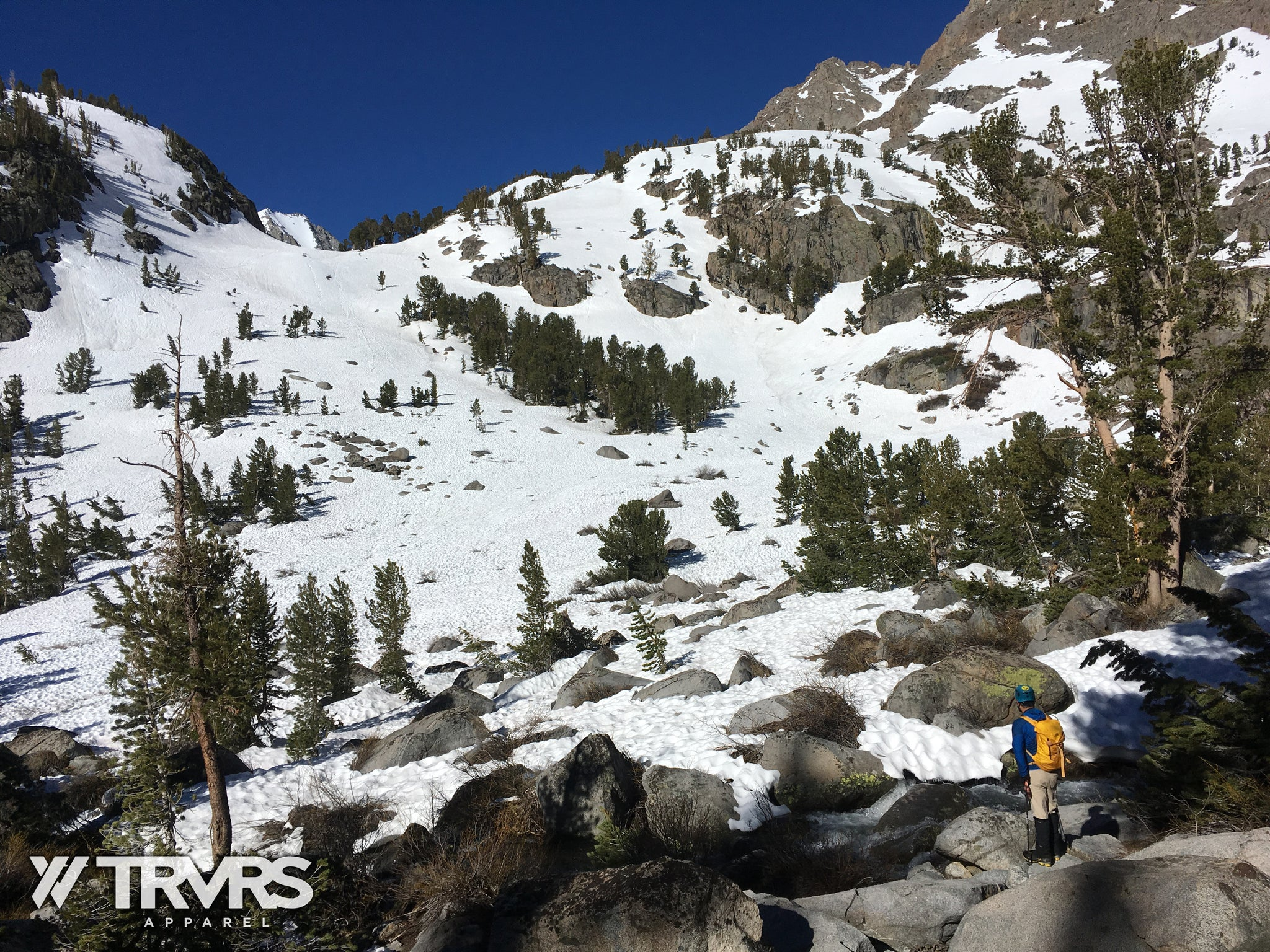 Sam Mack Approach via North Fork Big Pine Lakes | TRVRS APPAREL