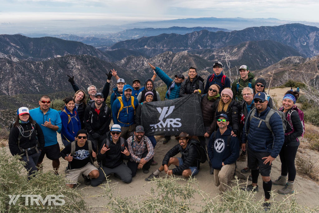 Strawberry Peak via Colby Canyon (Mountaineers Route) San Gabriel Mountains | TRVRS APPAREL