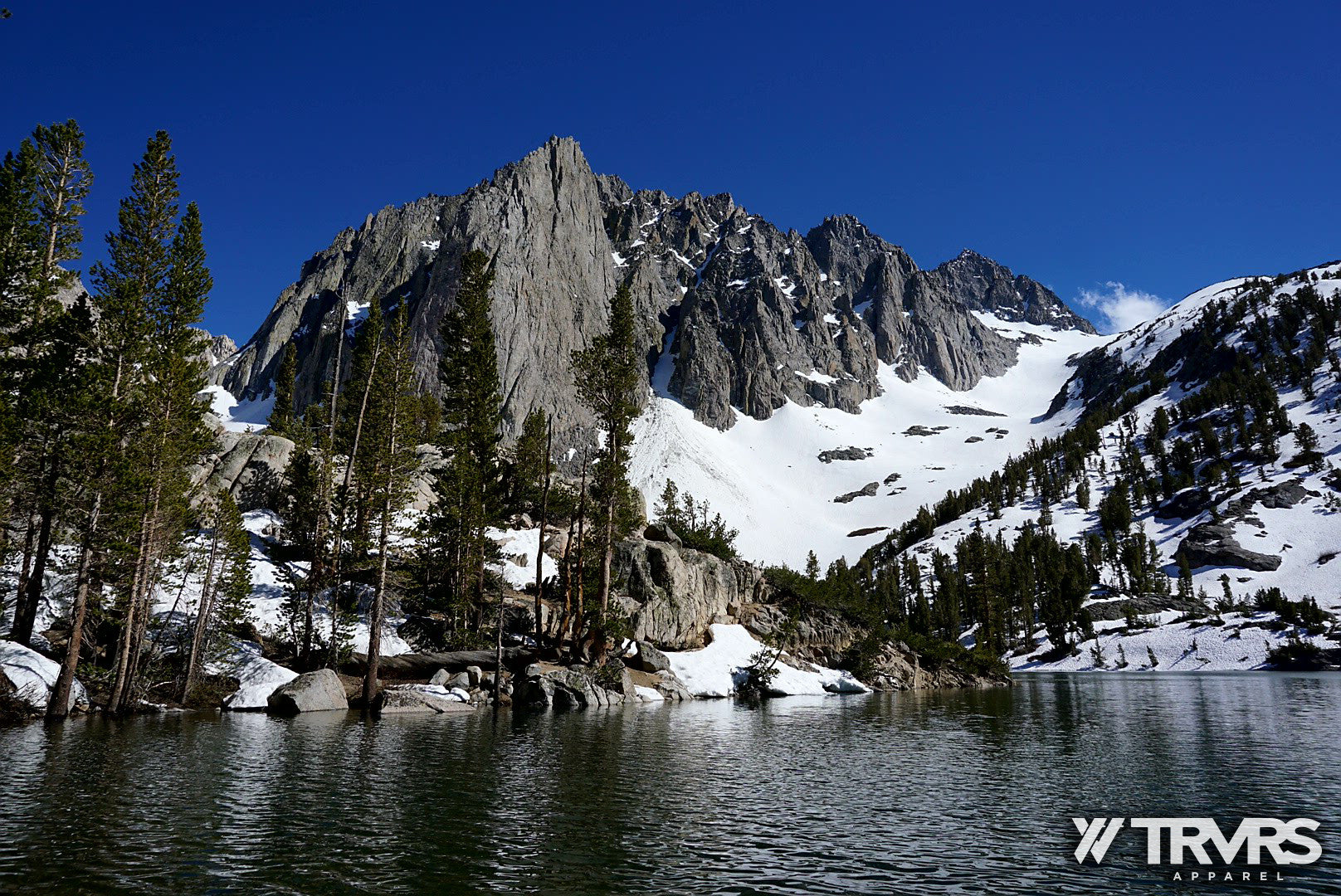 View of Temple Crag via Third Lake - North Fork Big Pine Lakes | TRVRS APPAREL