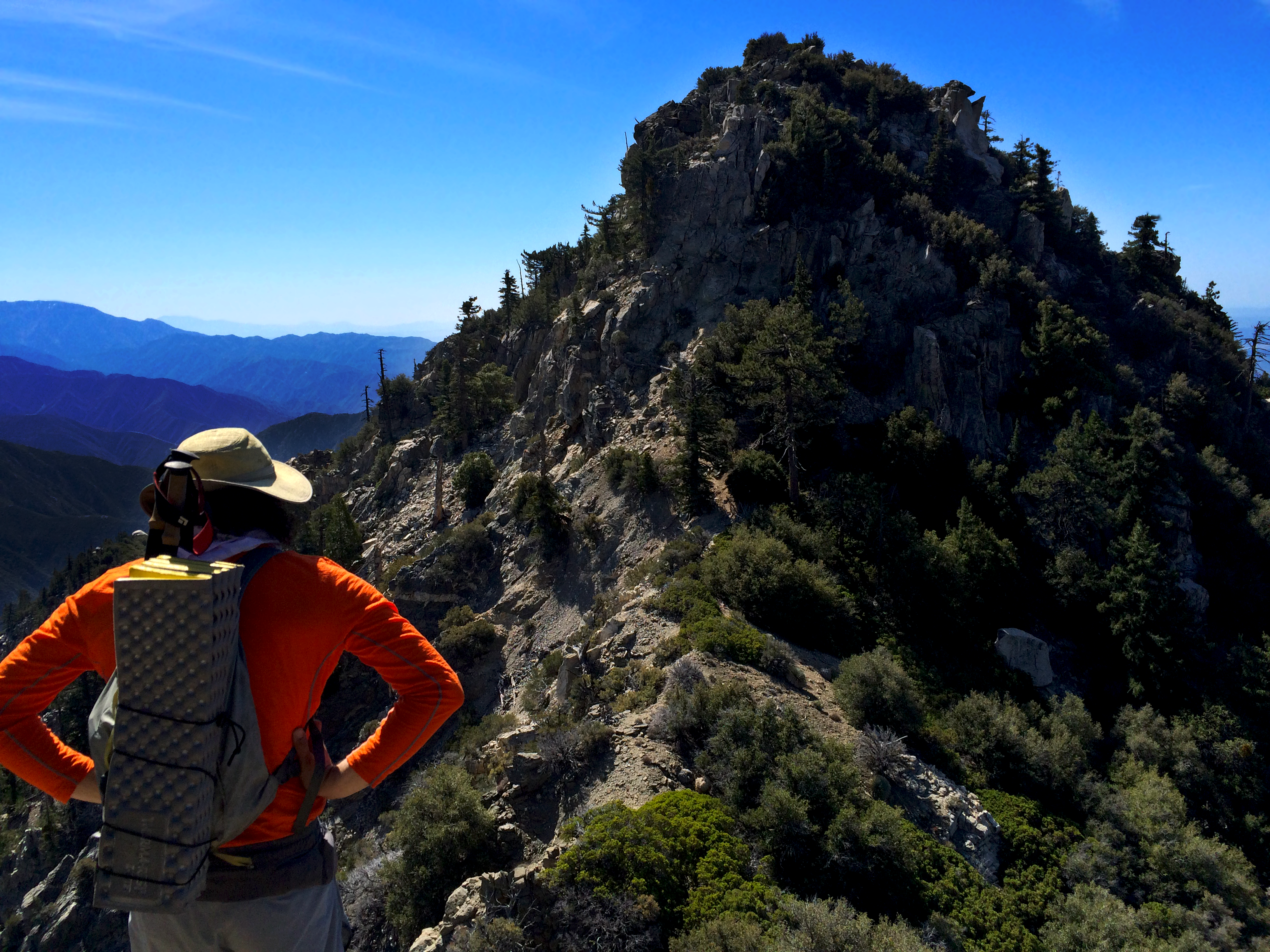 Triplet Rocks San Gabriel Mountains Angeles Forest - RIDGE TERRAIN || TRVRS APPAREL