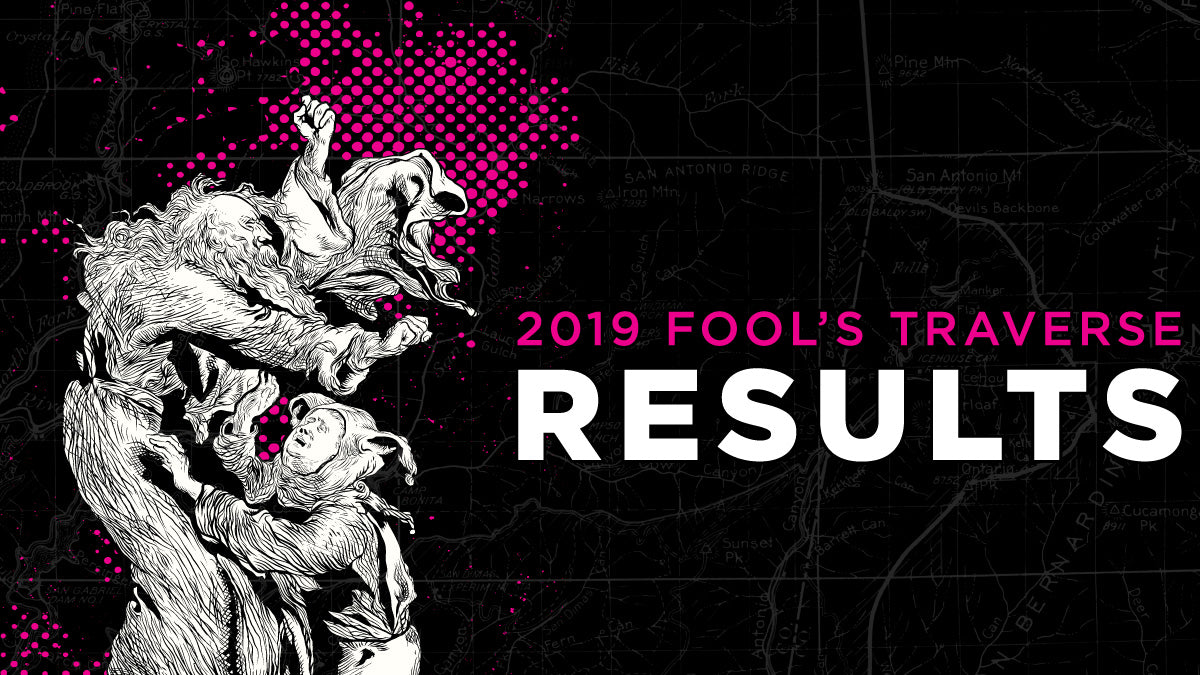 Results Page - 2019 Fool's Traverse - Angeles National Forest - San Gabriel Mountains | TRVRS Apparel - clothing, t-shirts, sports apparel