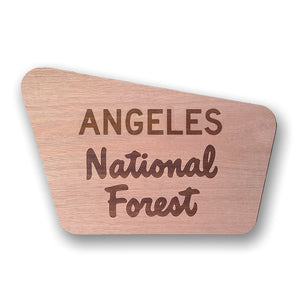 Angeles- National Forest Sign