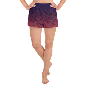 Sierra Nevada Map Women's Athletic Shorts | TRVRS Outdoors