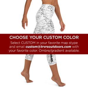 All Over Print Capri Leggings | TRVRS Outdoors