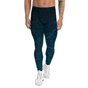 Sierra Nevada Map Men's Performance Tights