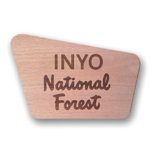 Inyo- National Forest Sign