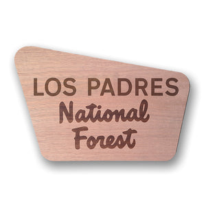 Los Padres- National Forest Sign