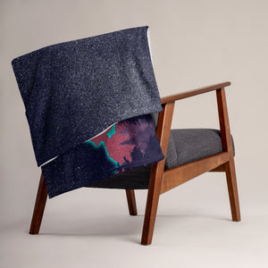 Folded Over Chair- Mount Wilson Observatory Throw blanket
