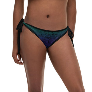 Northern Lights, Sierra Nevada Map Reversible Bikini Bottom | TRVRS Outdoors Hiking Apparel, Trail Running Clothing