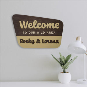 Personalized National Forest Sign