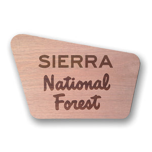 Sierra- National Forest Sign