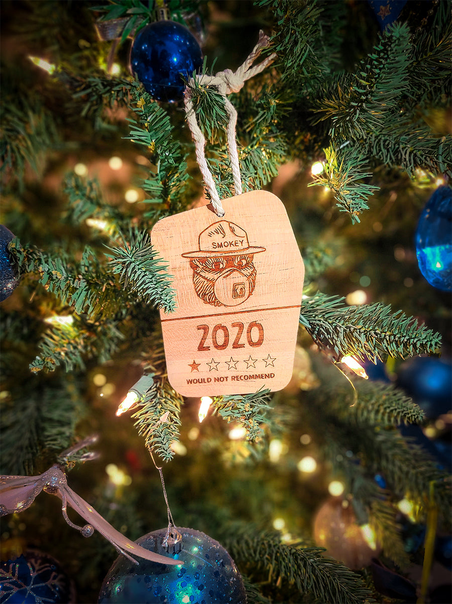 Limited Edition Smokey 2020 Tree Ornament