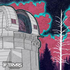 """New Astronomy"" Canvas - Mount Wilson Observatory"