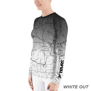 San Gabriel Map Women's Base Layer