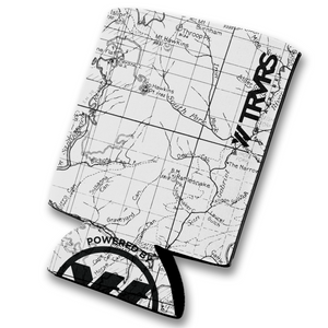 Angeles National Forest Map Beer Koozie