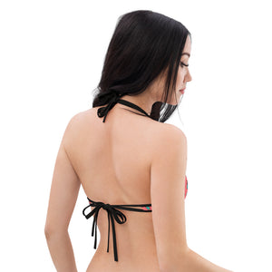 Hiker Trash Reversible Bikini Top -BACK | TRVRS Outdoors