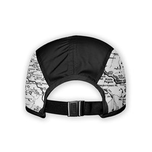 Back - Sierra Nevada Map 5 Panel Running Cap