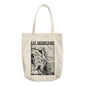Eat Mountains Tote Bag | TRVRS APPAREL