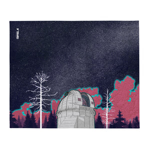 Mount Wilson Observatory Throw blanket