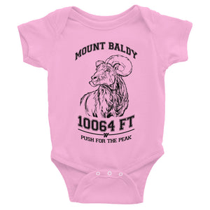 Mt. Baldy Big Horn Infant Body Suit - PINIK | TRVRS APPAREL