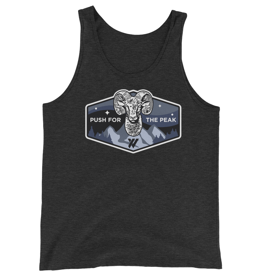 Big Horn Sheep PFTP Tank Top - BLACK | TRVRS APPAREL