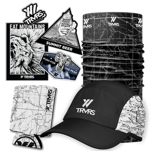 San Gabriel Map Running Cap Holiday Bundle