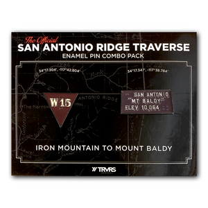 Limited Edition San Antonio Ridge Traverse Enamel Pin Combo Pack | TRVRS Apparel