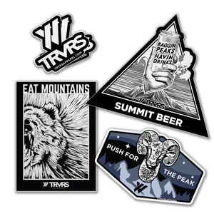 5 Sticker Combo Pack | TRVRS Outdoors