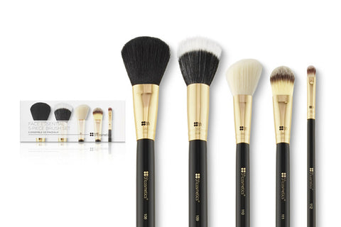 BH Cosmetics Essential Face Brush Set