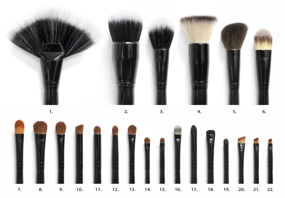 Coastal Scents 22-Piece Brush Set