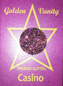 Golden Vanity Pressed Glitter - Casino