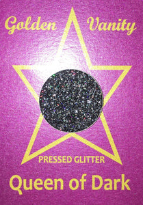 Golden Vanity Pressed Glitter - Queen of Dark