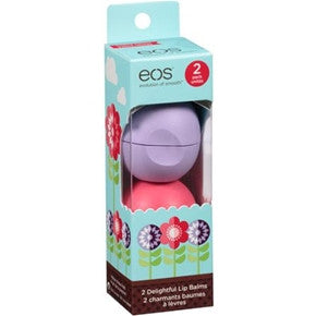 EOS Lip Balm Limited Edition Duo - Watermelon & Passion Fruit