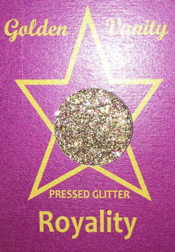 Golden Vanity Pressed Glitter - Royalty