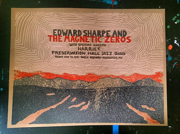 Edward Sharpe And The Magnetic Zeros - May 20, 2016 at Surly Brewing