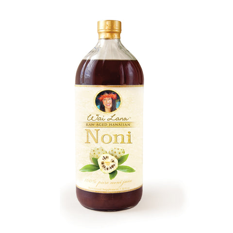 100% Pure Raw Aged Hawaiian Noni Juice (32 oz) - Free Shipping
