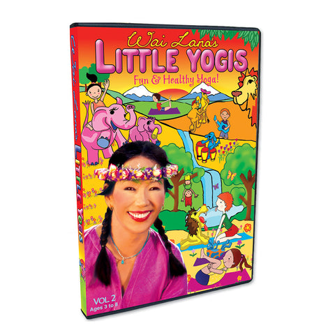 Wai Lana's Little Yogis™ DVD Vol. 2