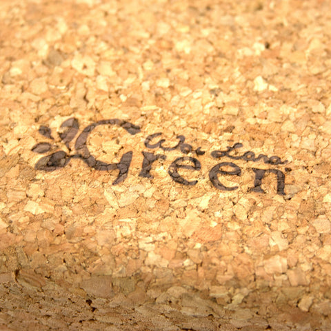 Wai Lana Green™ Cork Yoga Block