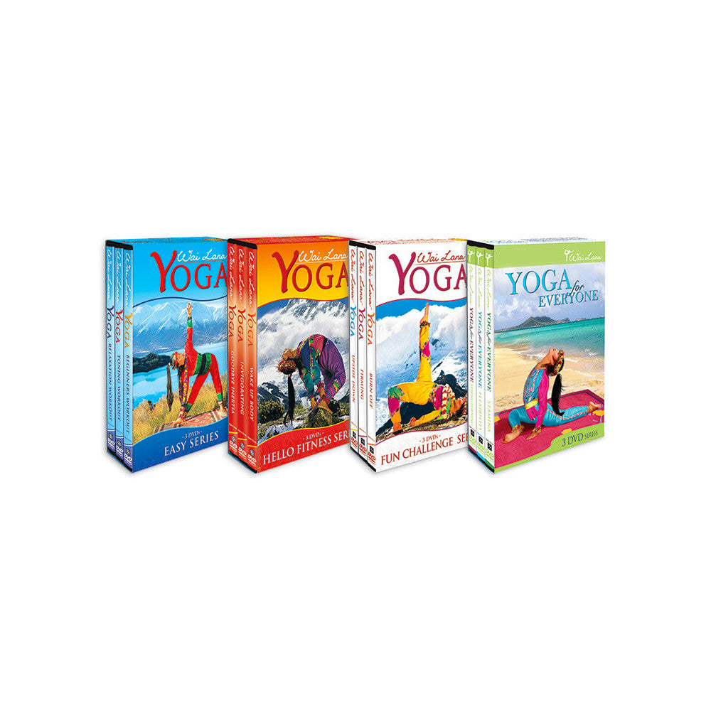 Wai Lana Yoga Complete DVD Collection