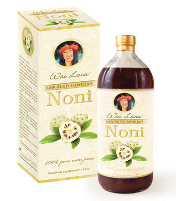 BULK DISCOUNT - 100% Pure Raw Aged Hawaiian Noni Juice - 1 case of 12 - 16oz - FREE  Shipping