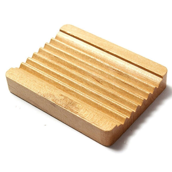Natural Wooden Soap Dish - Stylemypad