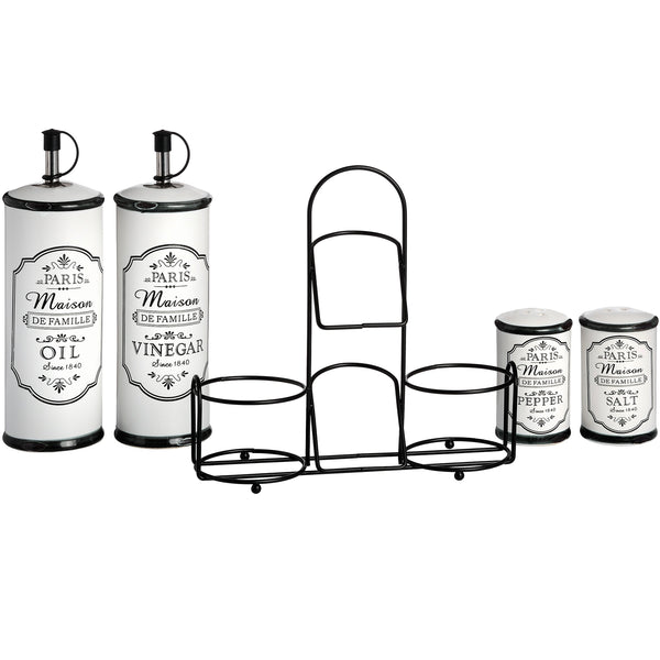 Paris Maison Condiment Set - Stylemypad