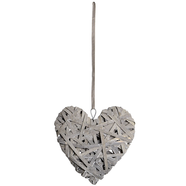 Wooden Hanging Heart - Stylemypad
