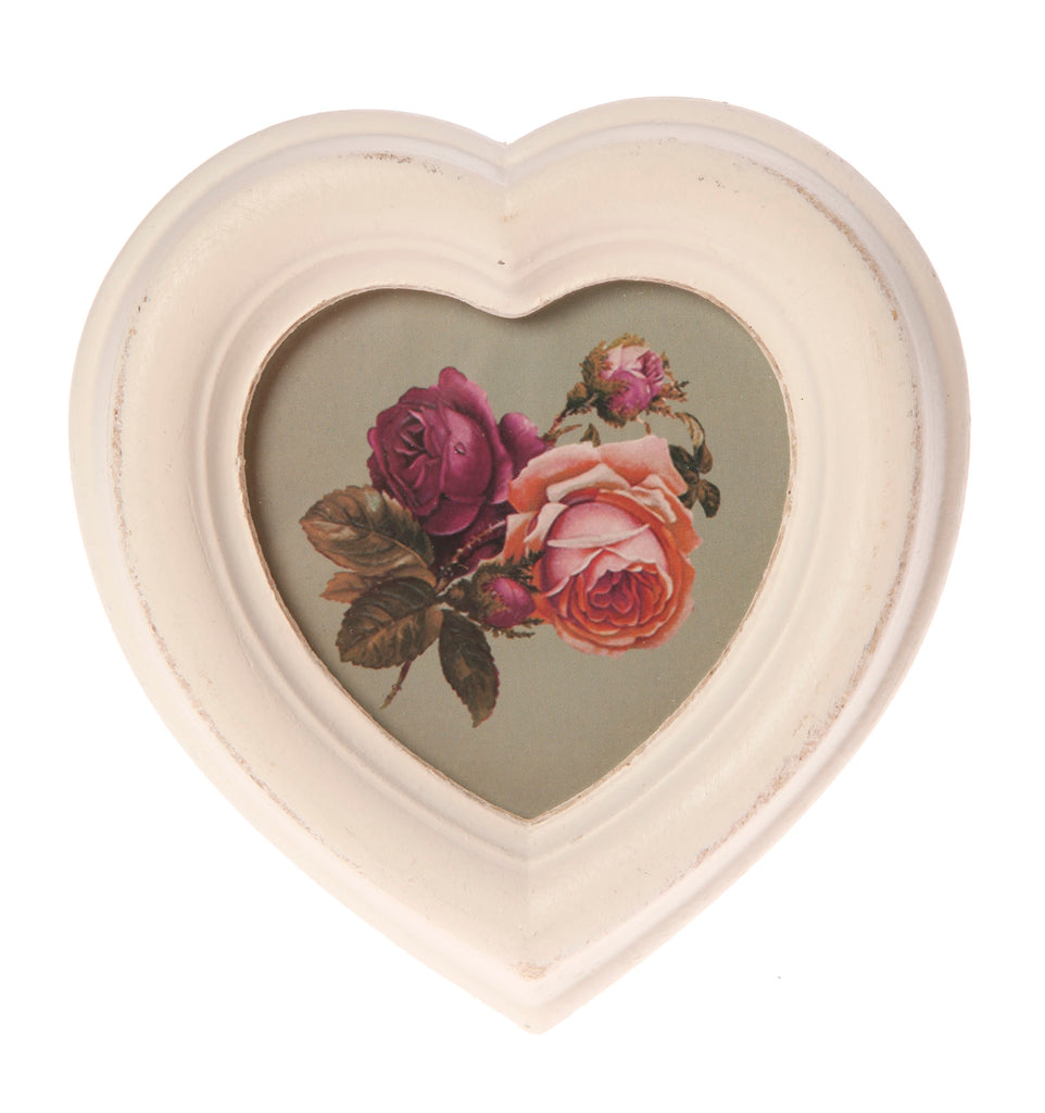 Antique Heart Photo Frame - Style My Pad