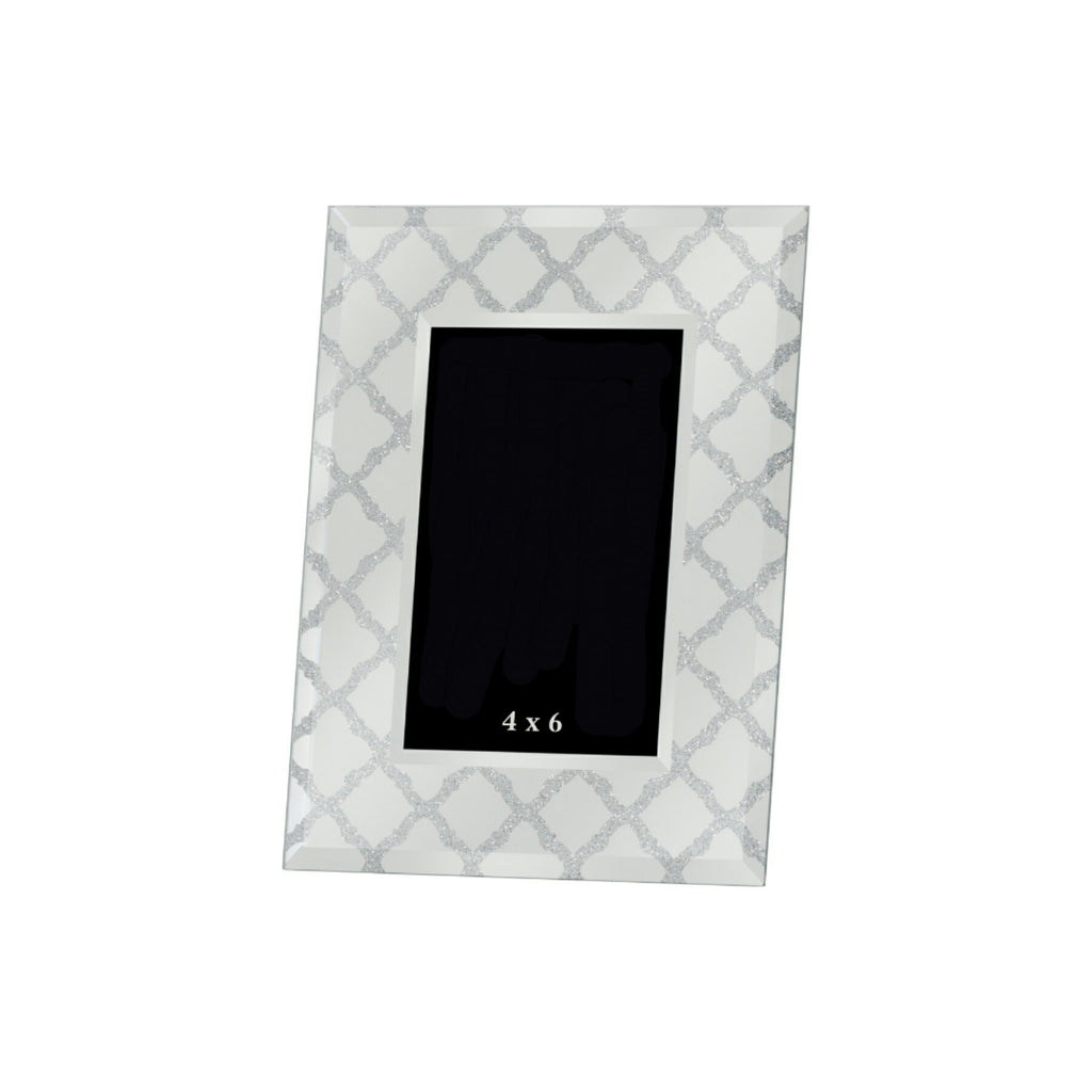 Arabesque Style Glass Picture Frame - Style My Pad