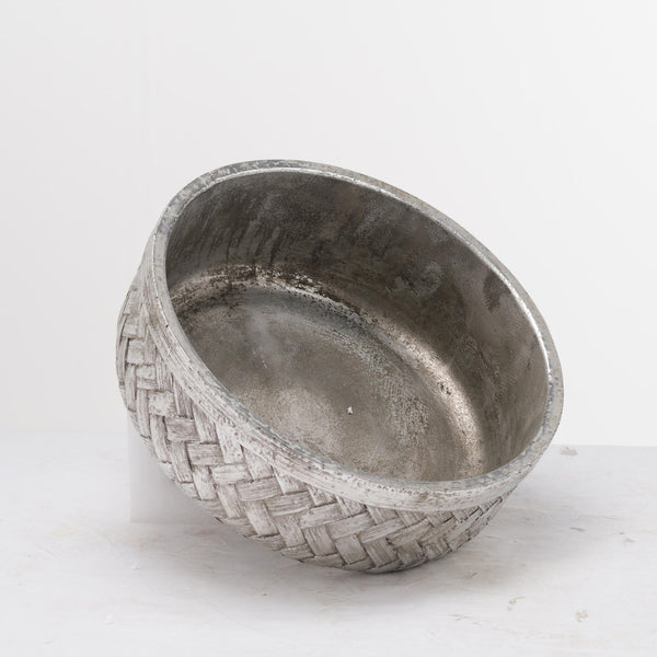 Aspen Woven Effect Decorative Bowl