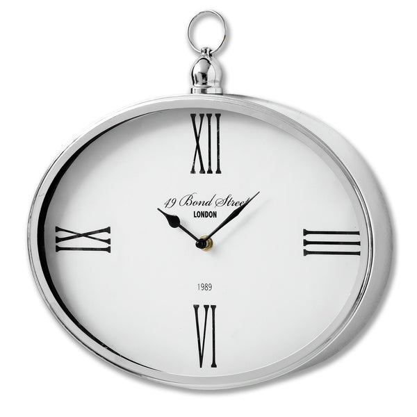 Bond Street London Oval Clock - Style My Pad