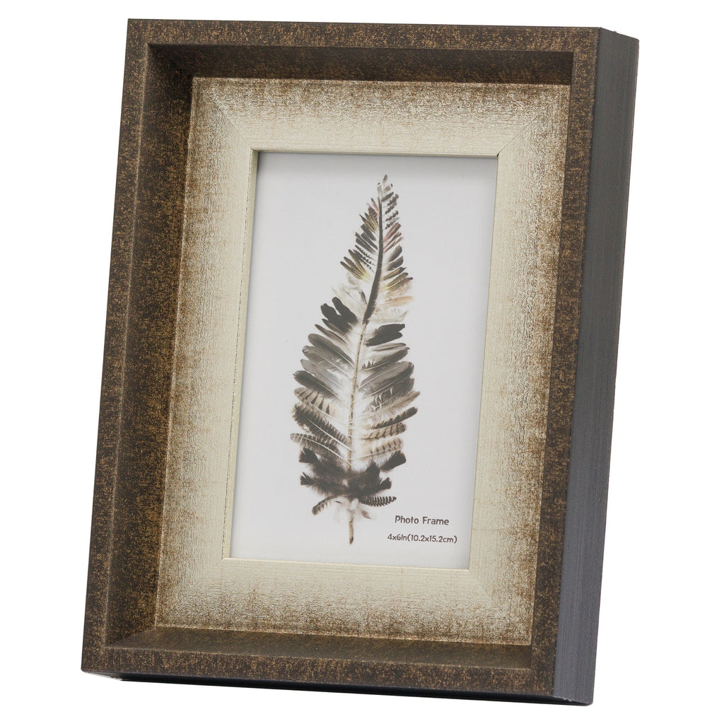 Dorchester 4 x 6 Frame With Silver Inlay - Style My Pad
