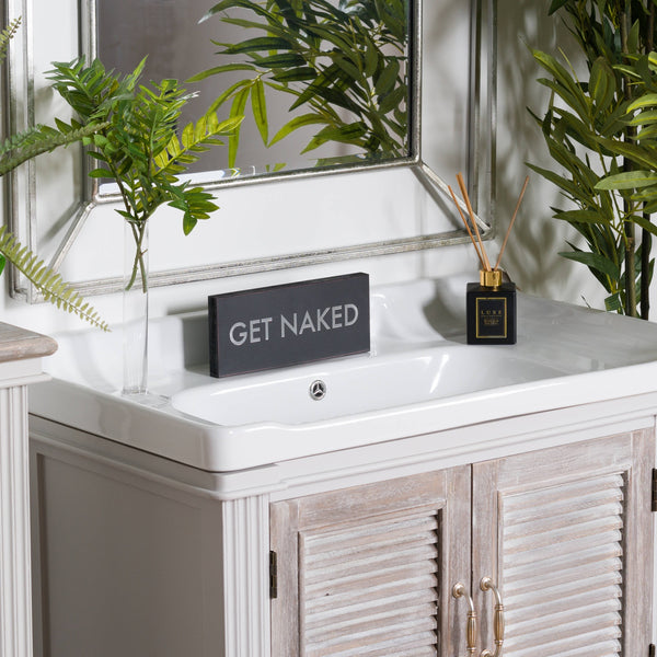 Get Naked Metallic Detail Plaque - Style My Pad