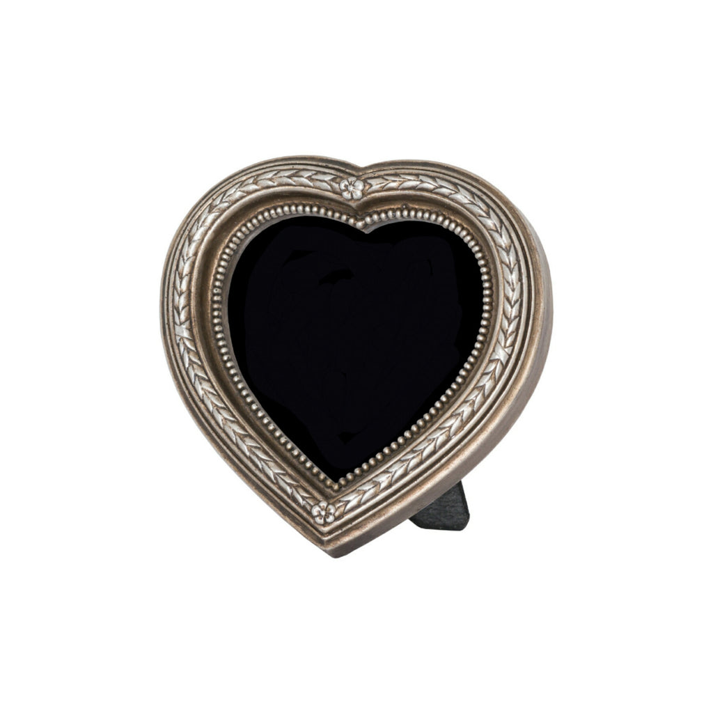 Heart Shaped Antique Silver Picture Frame - Style My Pad